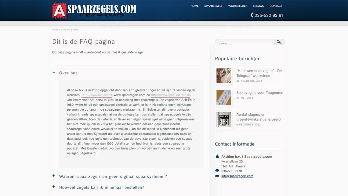 [photo: Spaarzegels faq]